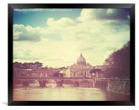 St Peters by Day, Framed Print