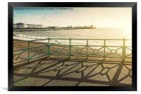 Day out in Brighton, Framed Print