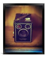 Shoot Film, Framed Print