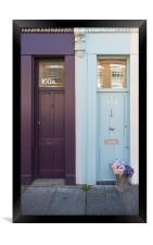 Two Doors, Framed Print