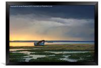 Approaching Rainstorm, Framed Print