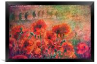 Remembrance, Framed Print