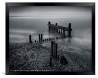 Outgoing Tide, Framed Print