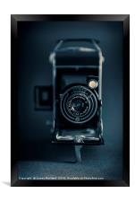 Vintage Kodak, Framed Print