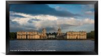 The Old Royal Naval College, Greenwich, Framed Print