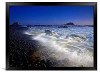 Explosive Tides , Framed Print