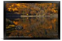 Autumn Reflections, Framed Print
