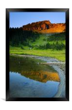 Evening Reflections , Framed Print