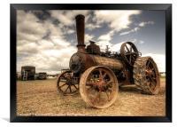 Rusty McLaren, Framed Print