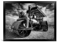 Steam Rolling, Framed Print
