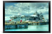 HMS Queen Elizabeth, Framed Print