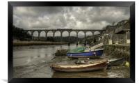 Calstock Viaduct, Framed Print
