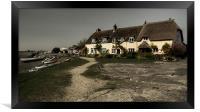 Weir Cottage, Framed Print