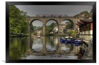 Knaresborough Viaduct, Framed Print