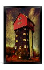 House in the Clouds, Framed Print