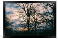 Sunrise, Framed Print