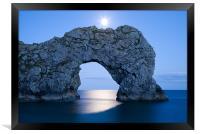 Under the moonlight, Framed Print