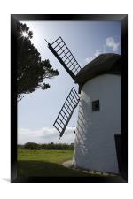 Tacumshane windmill, County Wexford, Ireland., Framed Print