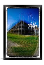 Sherbrooke architecture, Framed Print