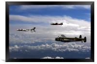 Avro Sisters 3, Framed Print