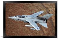 Tornado GR4 flying low, Framed Print
