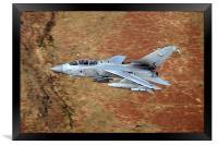 Tornado GR4 low level sortie, Framed Print