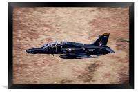 BAE Systems Hawk Mk2, Framed Print
