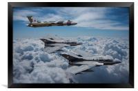 Vulcan Bomber Tornado GR4, Framed Print