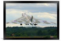 XH558 Avro Vulcan Bomber, Framed Print