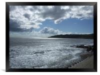 Dorset Days - Charmouth Beach, Framed Print