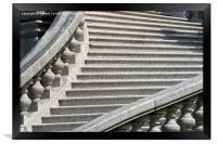Steps, Framed Print