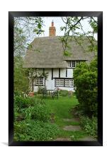 Old Church Cottage, Long Marston, Framed Print