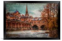 Pultney Bridge, Framed Print