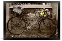 Flower Seller, Framed Print