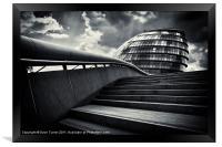 London City Hall, Framed Print