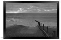 Hayling Island Beach, Framed Print