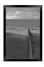 Hayling Island Seaview, Framed Print