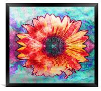 Flowering Sunrise, Framed Print