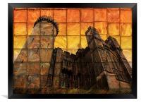 Arundel Castle at Sunset, Framed Print