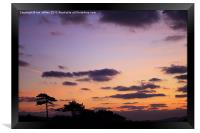 Jurassic Coast Sunrise, Framed Print