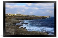 Durasic Coastal Path, Framed Print