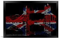 Tower Bridge, Framed Print