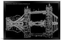 Tower Bridge - London, Framed Print
