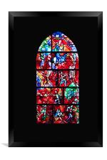 Stained Glass, Framed Print