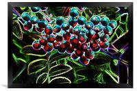 Rowan Berries, Framed Print