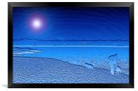 Blue Solent, Framed Print