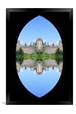 Castle, Framed Print