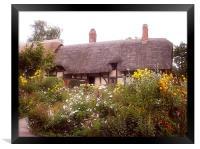 Cottage, Framed Print