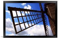 Windmill sail, Framed Print