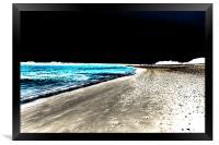 Beach, Framed Print